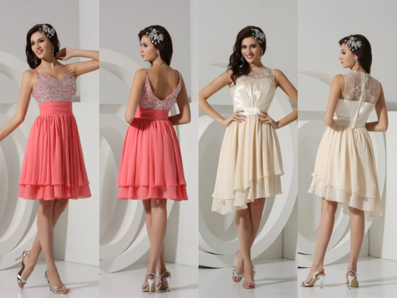 short formal & wedding dresses