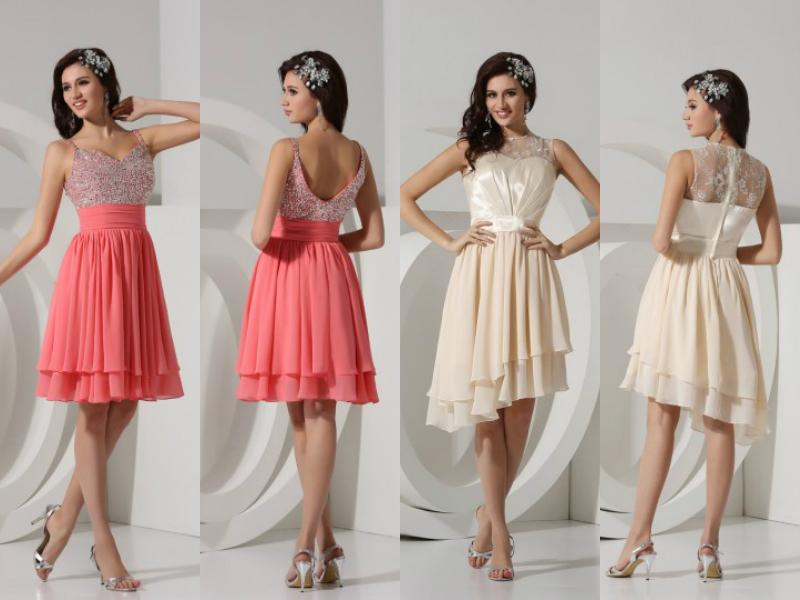 short formal & wedding dresses