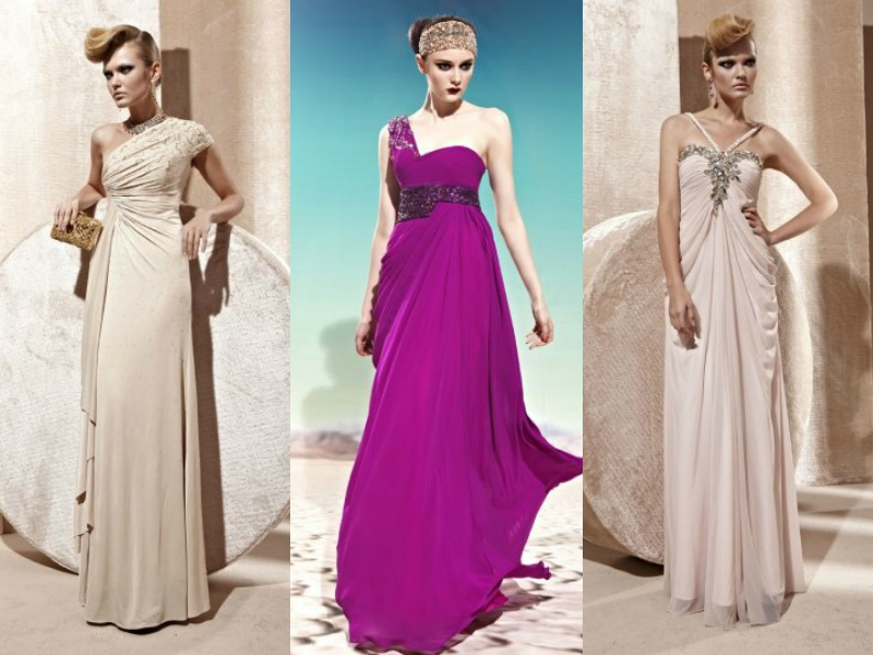 chiffon formal evening dresses