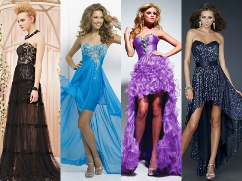 high low formal dresses online