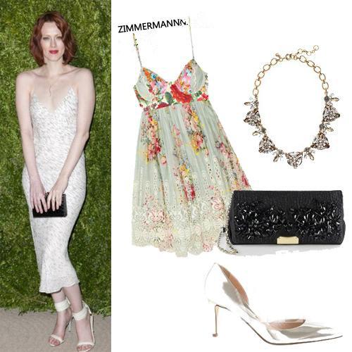 lace slip dress style