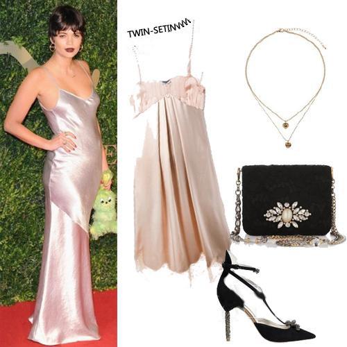 silver spaghetti strap short dress style
