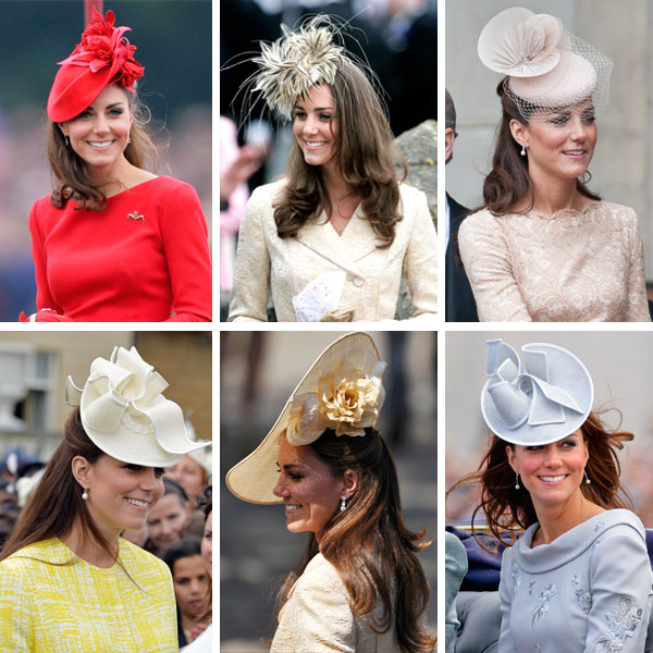 Princess Kate's fashion hats
