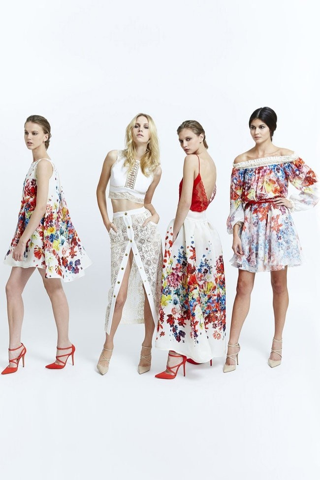 bohemian 3D printing formal dress