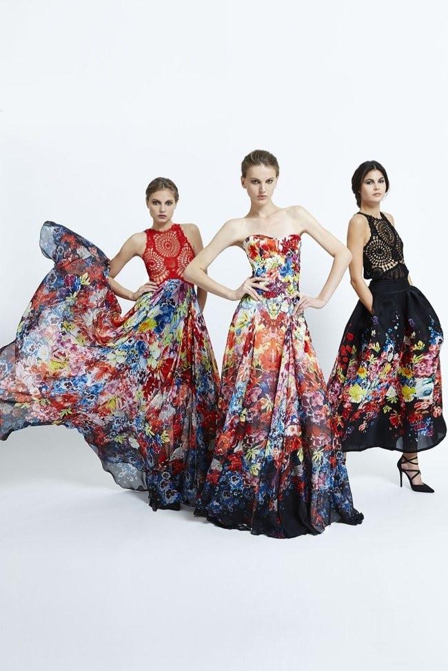 bohemian formal dress