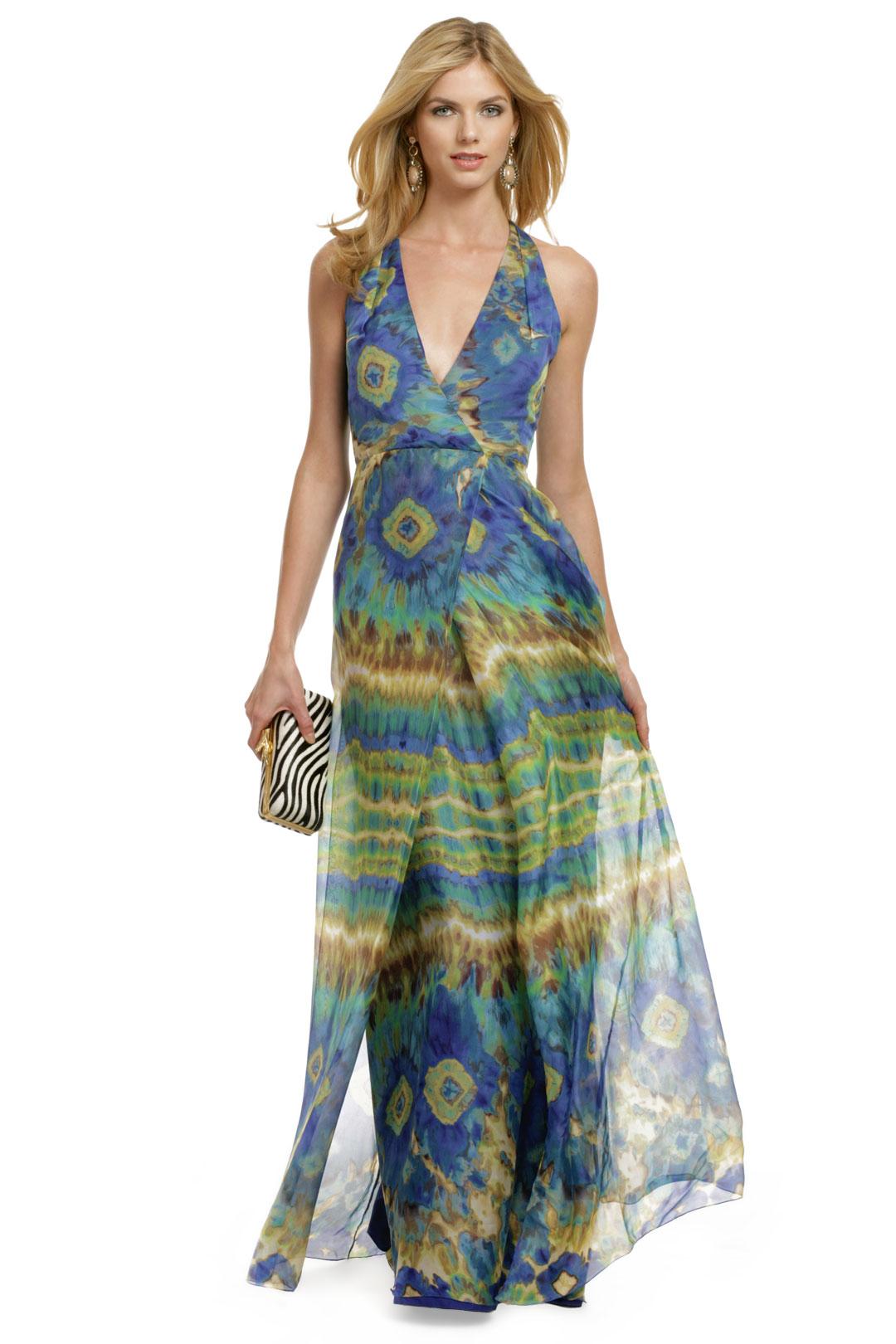 Carlos Miele beach formal dress