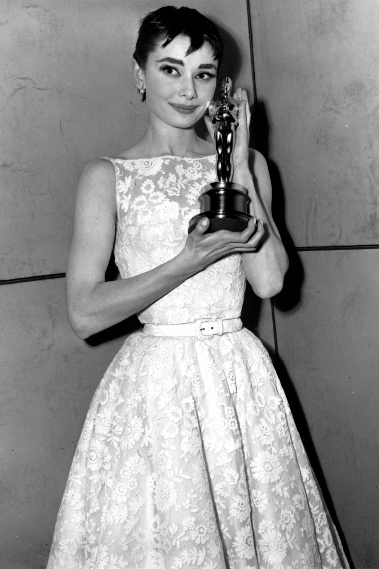 Audrey Hepburn's oscar dress