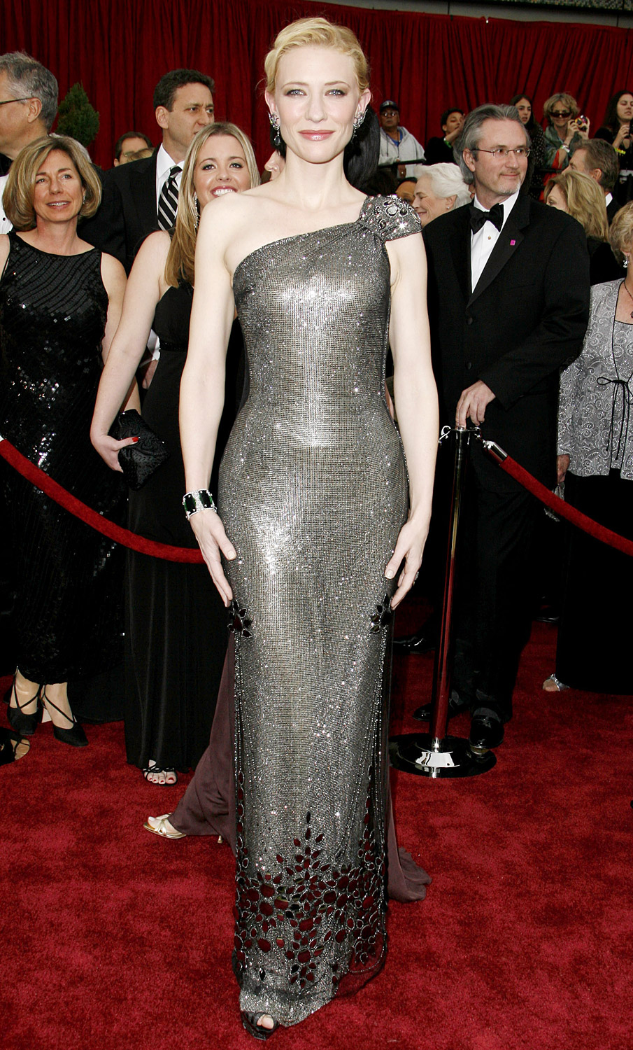 Cate Blanchett's sequins red carpet dress