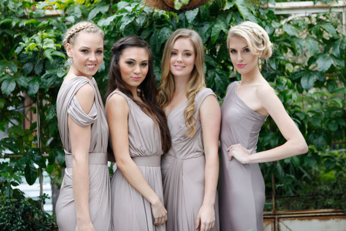 grey Bridesmaid Dresses Australia